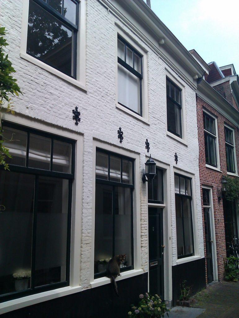 De Ceciliasteeg in Haarlem