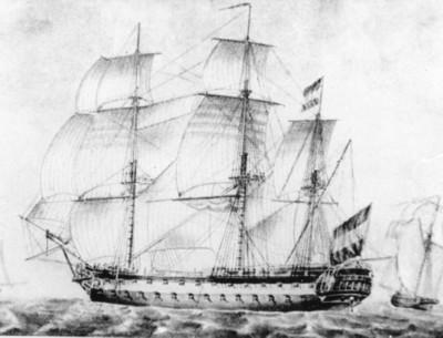 Linieschip Admiraal De Ruyter (1808)